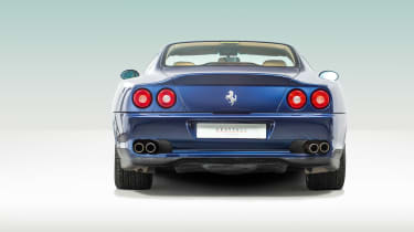 Ferrari 550 Maranello rear