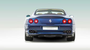 Ferrari 550 Maranello rear