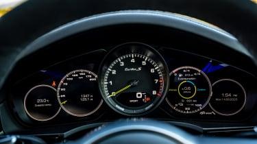 Porsche Cayenne Coupe Turbo S e-hybrid – dials