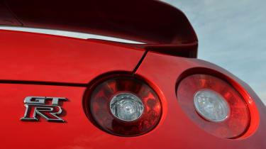 2013 Nissan GT-R bootlid badge