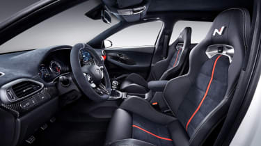 Hyundai i30 N Option Pack - paris interior