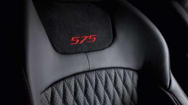 Jaguar XJR575 seat detail