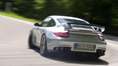 Porsche 911 GT2 RS rear corner