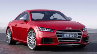 Audi TT and TTS revealed at the Geneva motor show