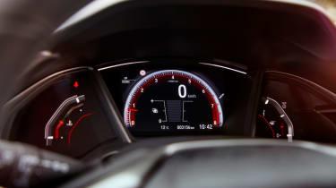 Honda Civic review - dash