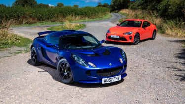 Toyota GT86 and Lotus Exige S (S2)