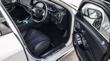 Mercedes-Benz S-class – interior