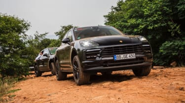 Facelifted Porsche Macan