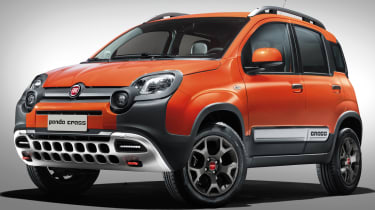Fiat Panda Cross revealed ahead of Geneva motor show