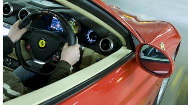 Ferrari action shot
