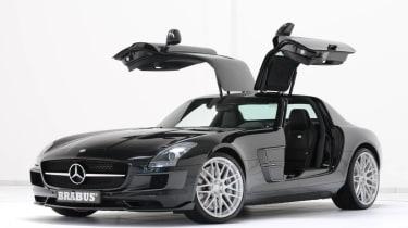 Brabus Mercedes-Benz SLS AMG supercar