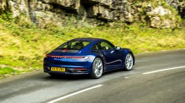Porsche 911 Carrera S manual rear