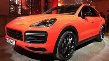 Porsche Cayenne Coupe - front quarter