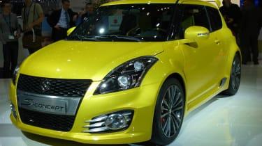 Geneva 2011: Suzuki Swift Sport S-Concept