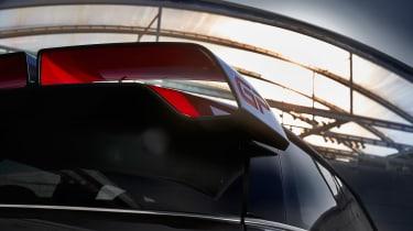 Mini JCW GP teaser - rear wing