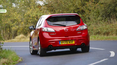 Mazda 3 MPS rear