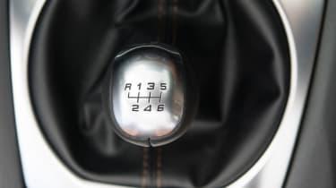 Fiat 124 Spider - Gear lever