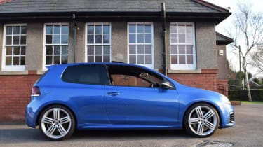 Volkswagen Golf R Mk6 - side profile
