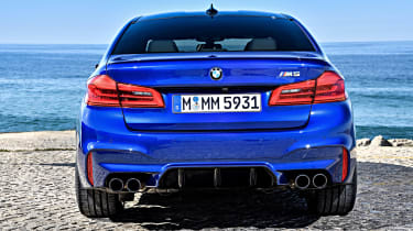 BMW M5 review - rear
