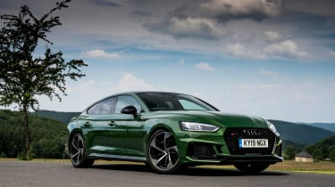 Audi RS5 Sportback review - static