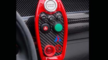 Lotus 3-Eleven – main button panel