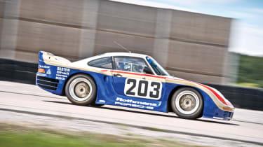 Porsche 961 side profile