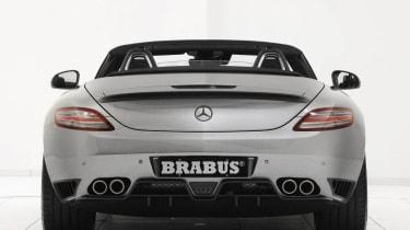Brabus SLS AMG Roadster rear view