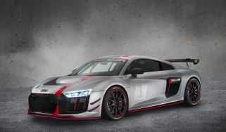 Audi R8 LMS GT4 front three quarters