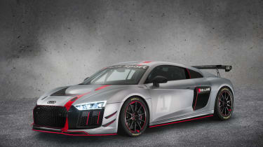 Audi R8 LMS GT4 front three quarters