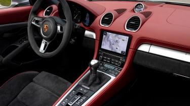 Porsche 718 Boxster Spyder - dash