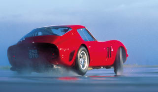 Ferrari 250 GTO rear drift