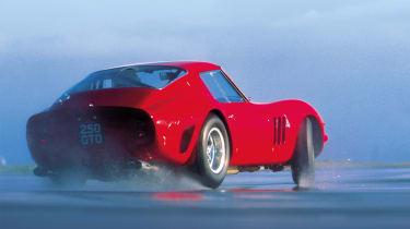 Ferrari 250 GTO rear drift