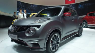 Nissan Juke Nismo RS grey front