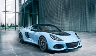 Lotus Exige 410 Sport – front quarter
