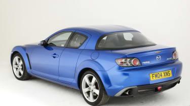 Mazda RX-8 rear view