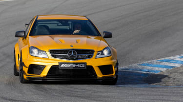 Mercedes C63 AMG Black Edition