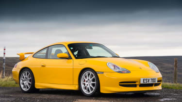 Porsche 911 GT3 996 – front quarter