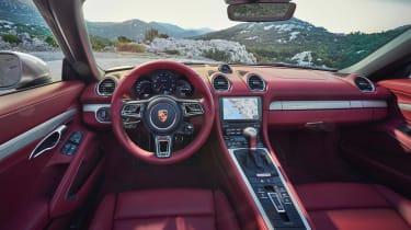 Porsche Boxster 25 - dash