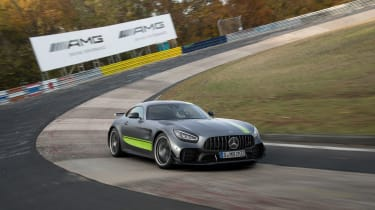 Mercedes-AMG GT R Pro review - turn in