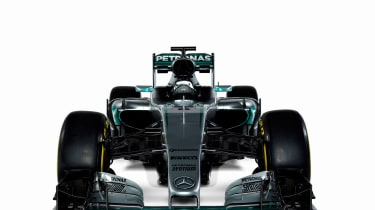Mercedes F1 2018 car - front