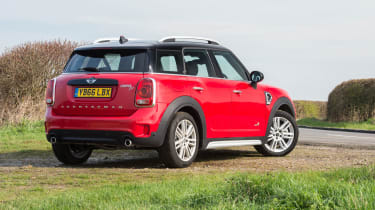 Mini Countryman SD - Rear