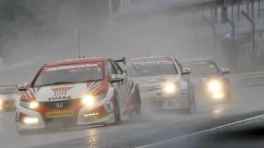 British Touring Cars 2013 champion Shedden Plato