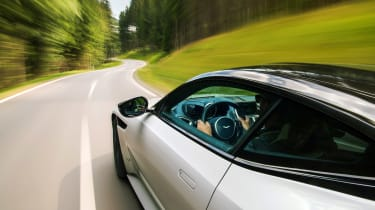 Aston Martin DBS Superleggera drive - side