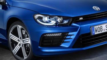 New VW Scirocco R bumper grille aero