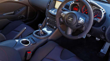 2013 Nissan 370Z Nismo interior dashboard steering wheel