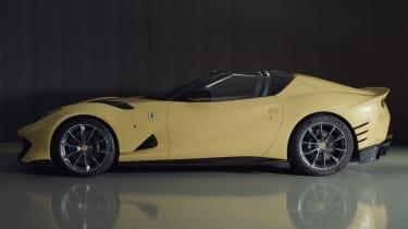 Ferrari 812 Competizione A side