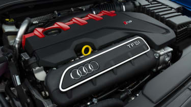 Audi RS3 Sportback - engine bay