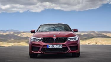 BMW M5 F90 - Plum matte front