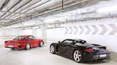 Porsche Carrera GT & 959 - static