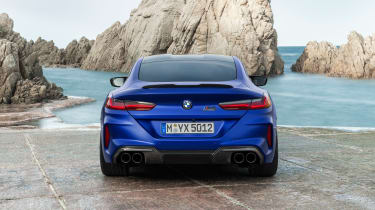 BMW M8 Competition - rear